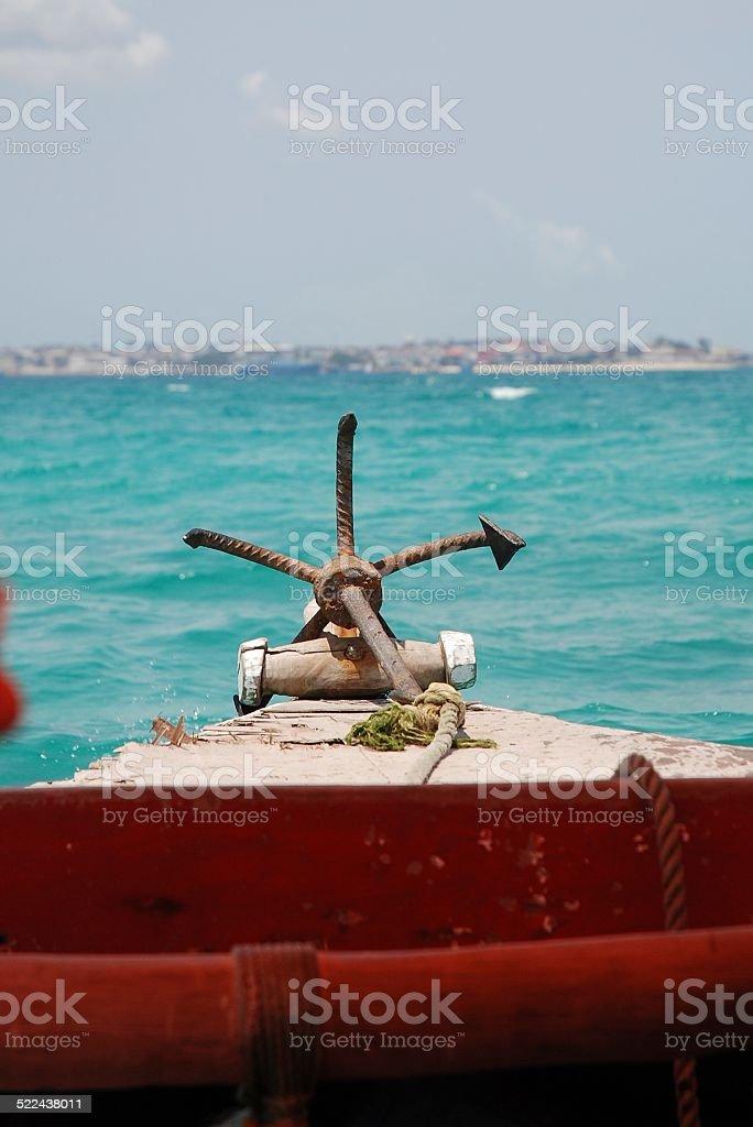 Boat Anchor royalty-free stock photo