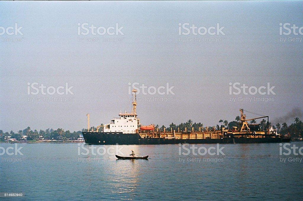 Boat and ship stock photo