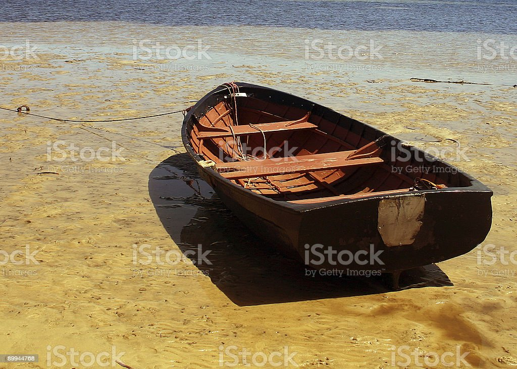 boat at port stephens royalty-free stock photo