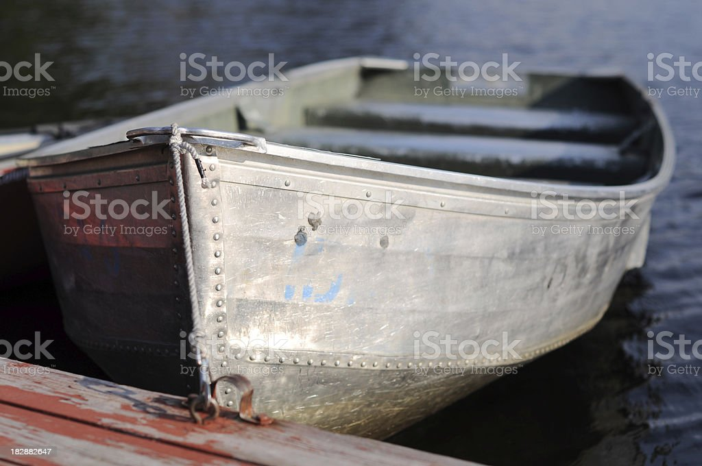 Boat at the lake royalty-free stock photo