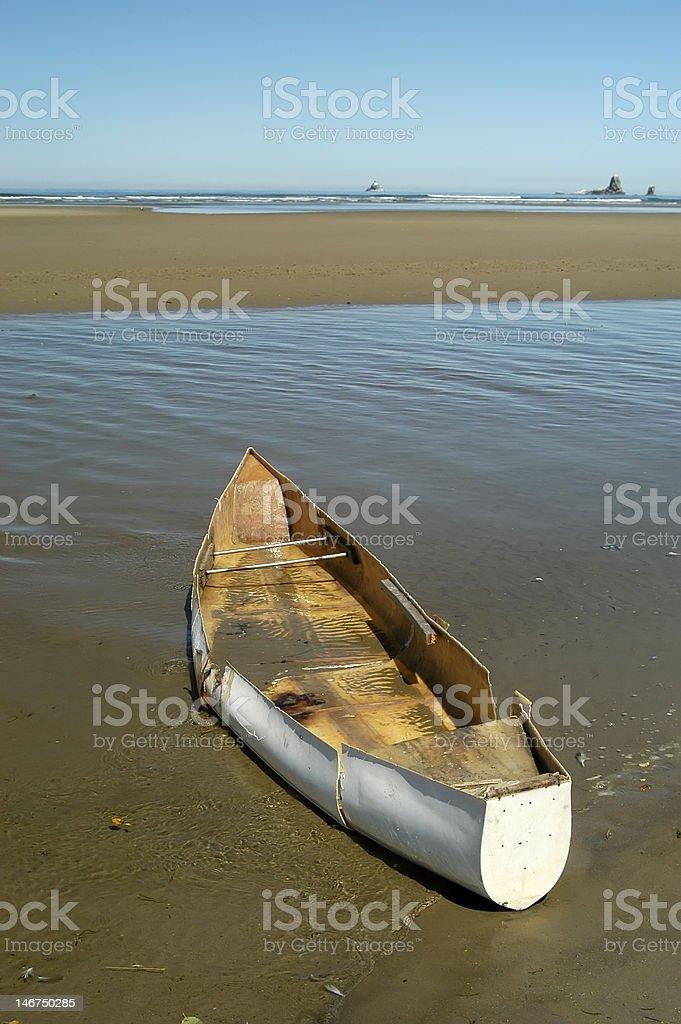 Boat at the Ocean royalty-free stock photo