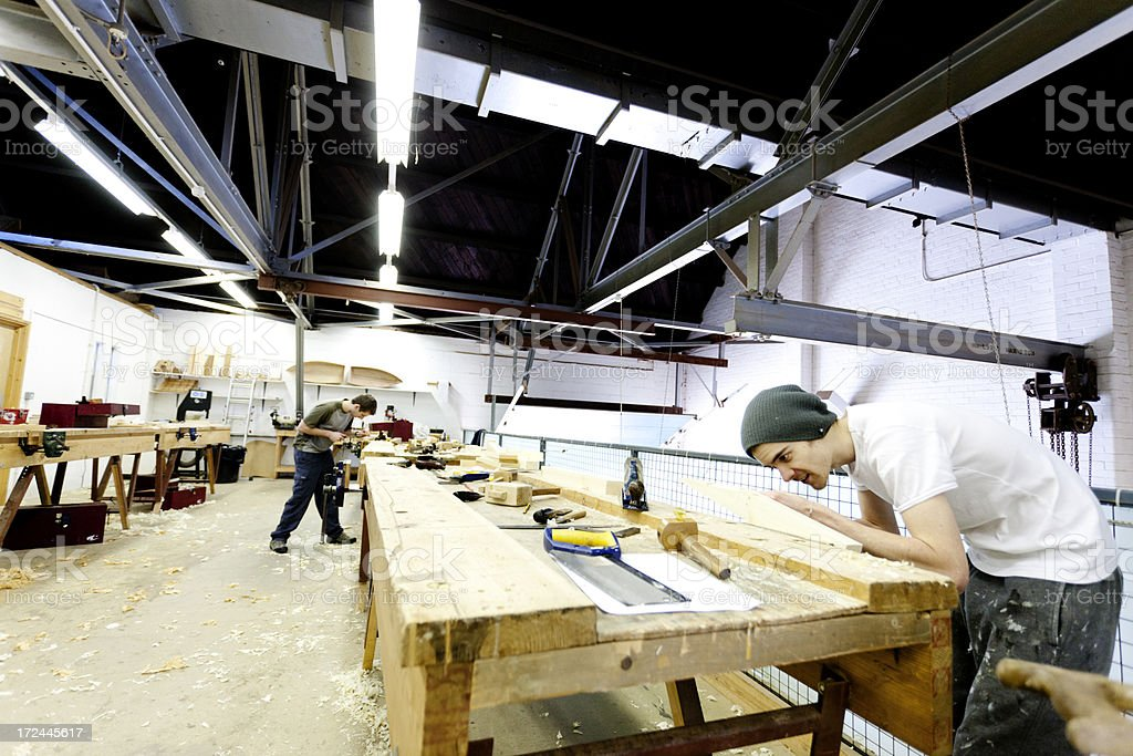 Boat building academy royalty-free stock photo