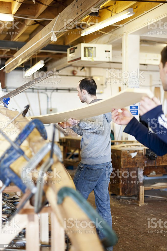 Boat building royalty-free stock photo