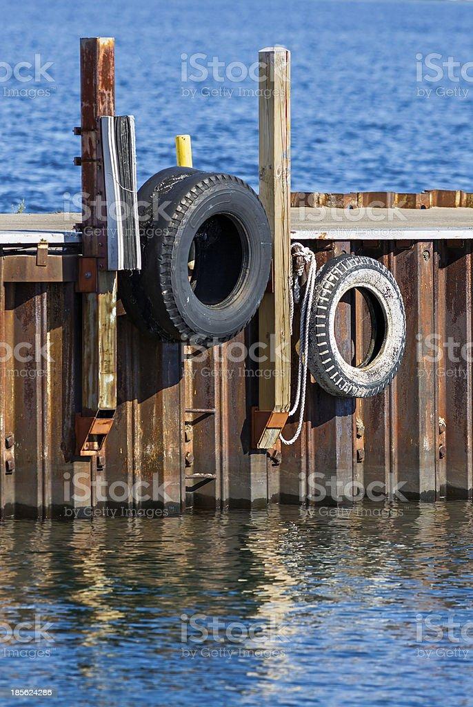 Barca Paraurti foto stock royalty-free