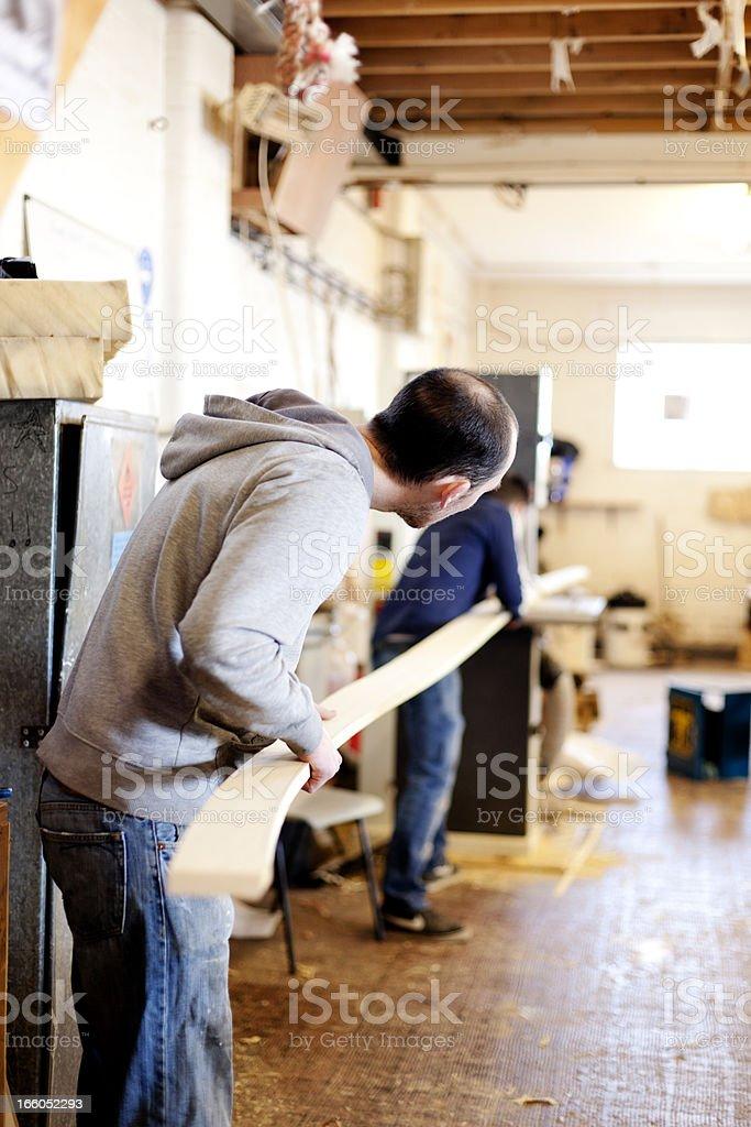 Boat carpentry royalty-free stock photo