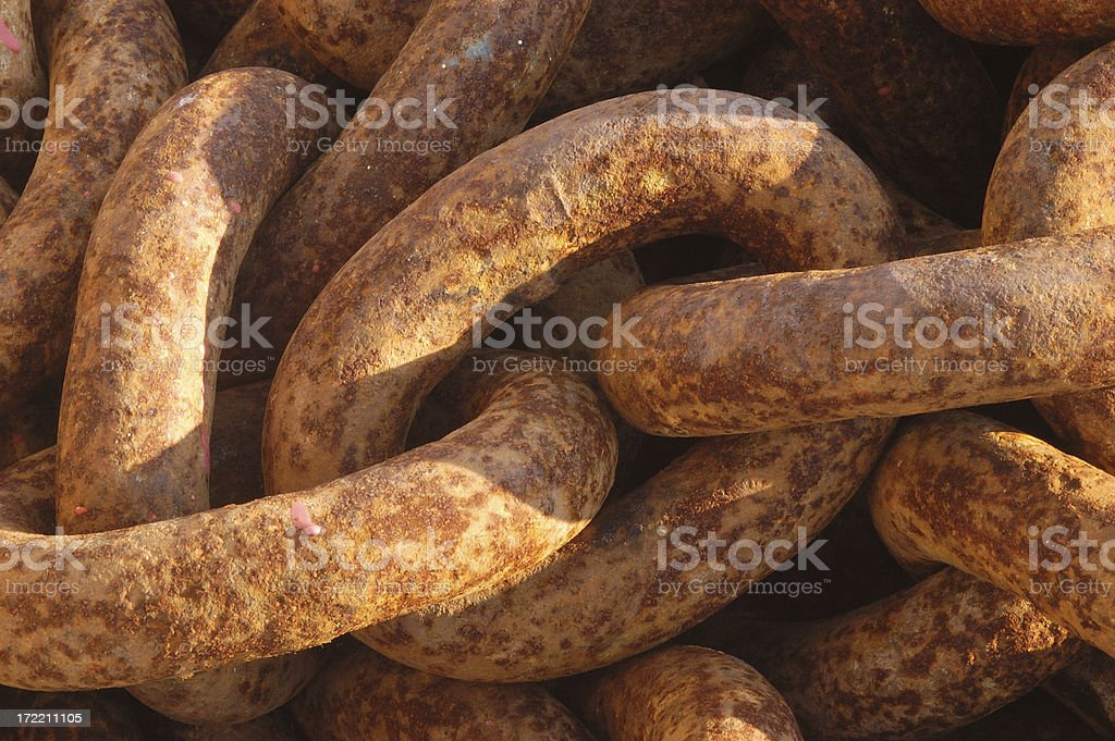 Boat Chain. royalty-free stock photo