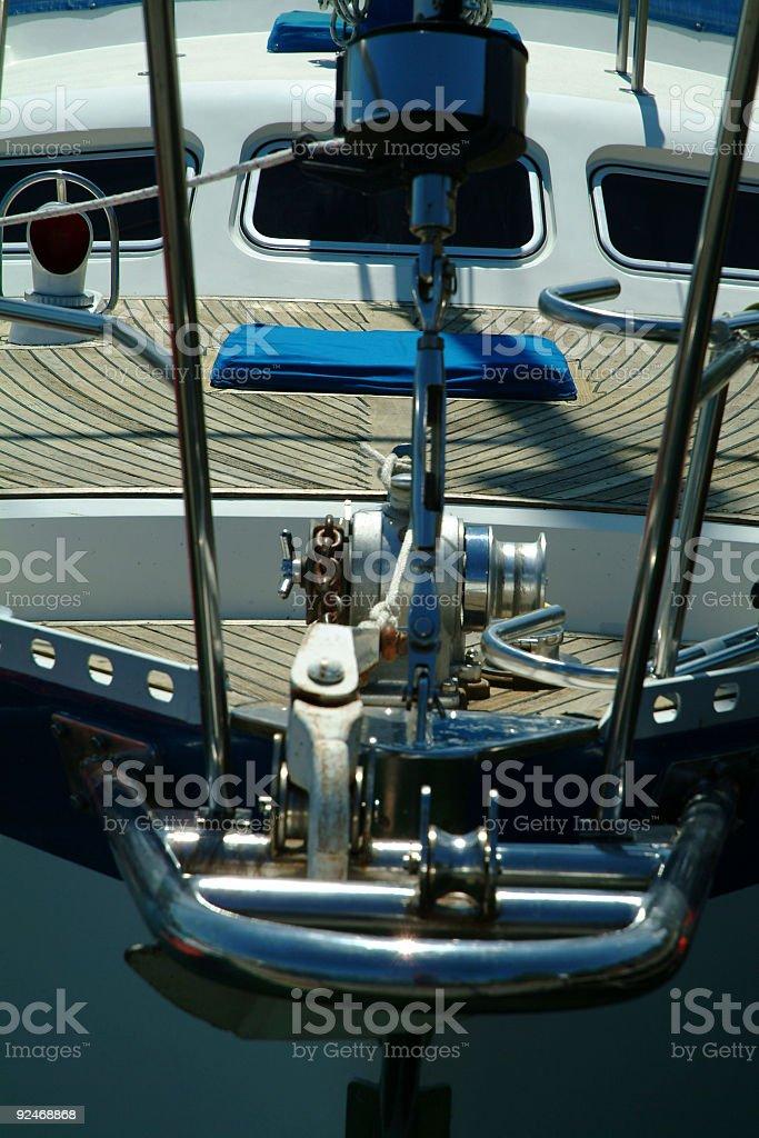 Boat close-up 3 royalty-free stock photo