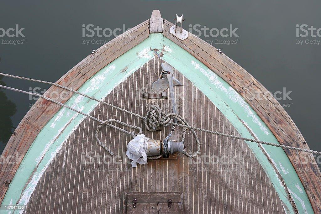 Boat Detail royalty-free stock photo