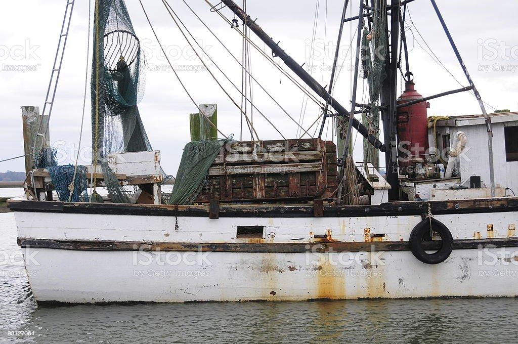Boat Detail stock photo