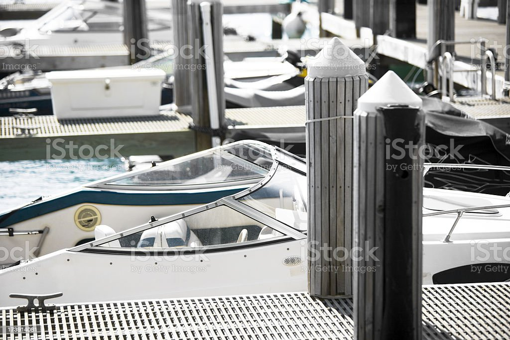 Boat dock  XXXL royalty-free stock photo