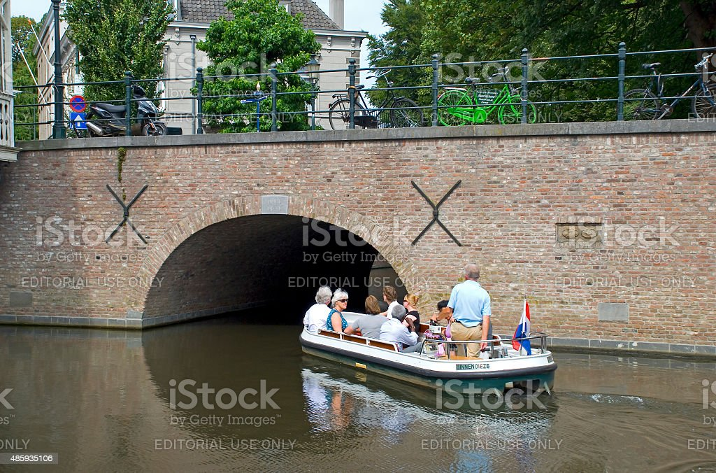 Boat excursion stock photo