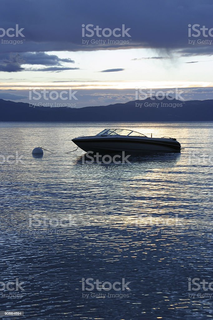 Boat Fantasy Number One stock photo