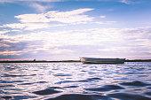 Boat floating