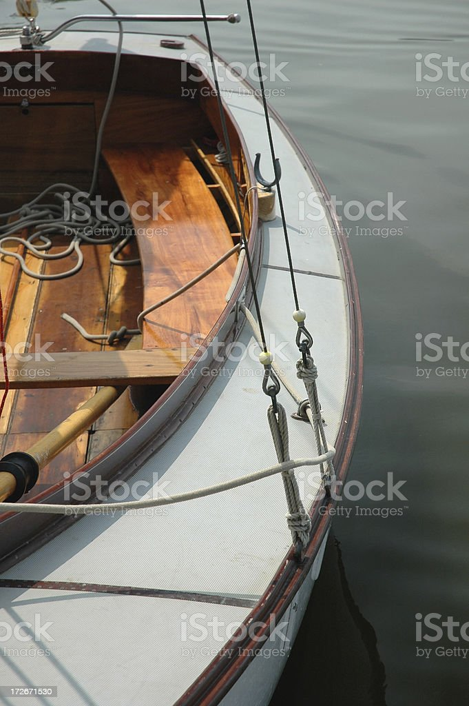 Boat - Halfdecker royalty-free stock photo