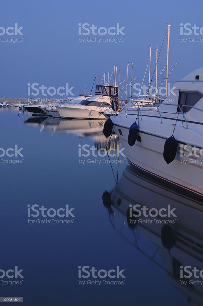Boat Harbor Italy royalty-free stock photo