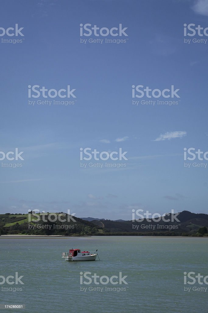 Boat In Harbour royalty-free stock photo
