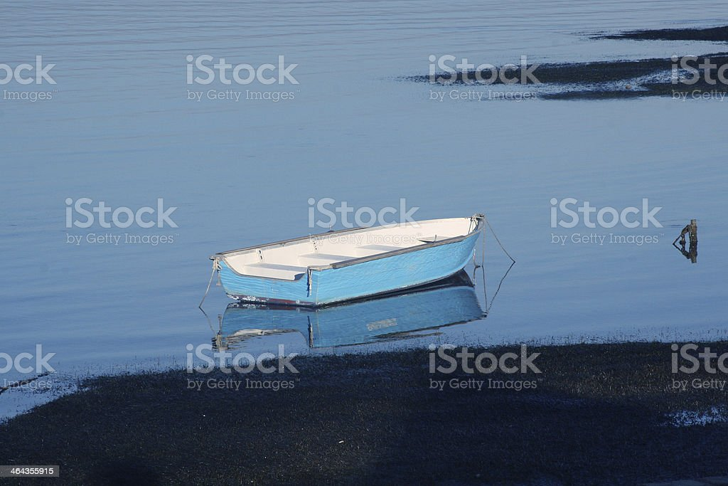 Boat In Lake royalty-free stock photo