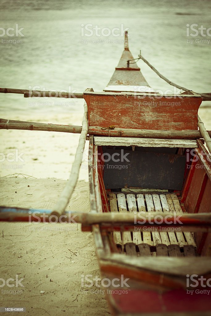 boat in philippines royalty-free stock photo