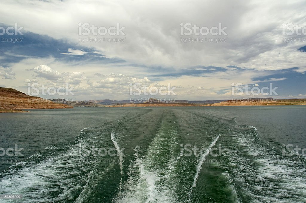 Boat Journey stock photo