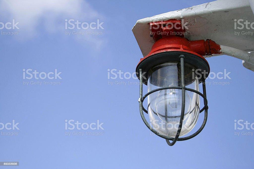 Boat lantern royalty-free stock photo