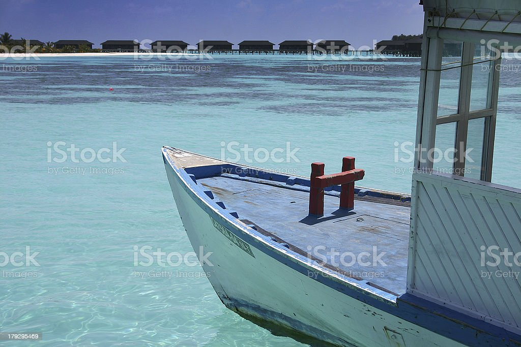 boat maldives (1) royalty-free stock photo