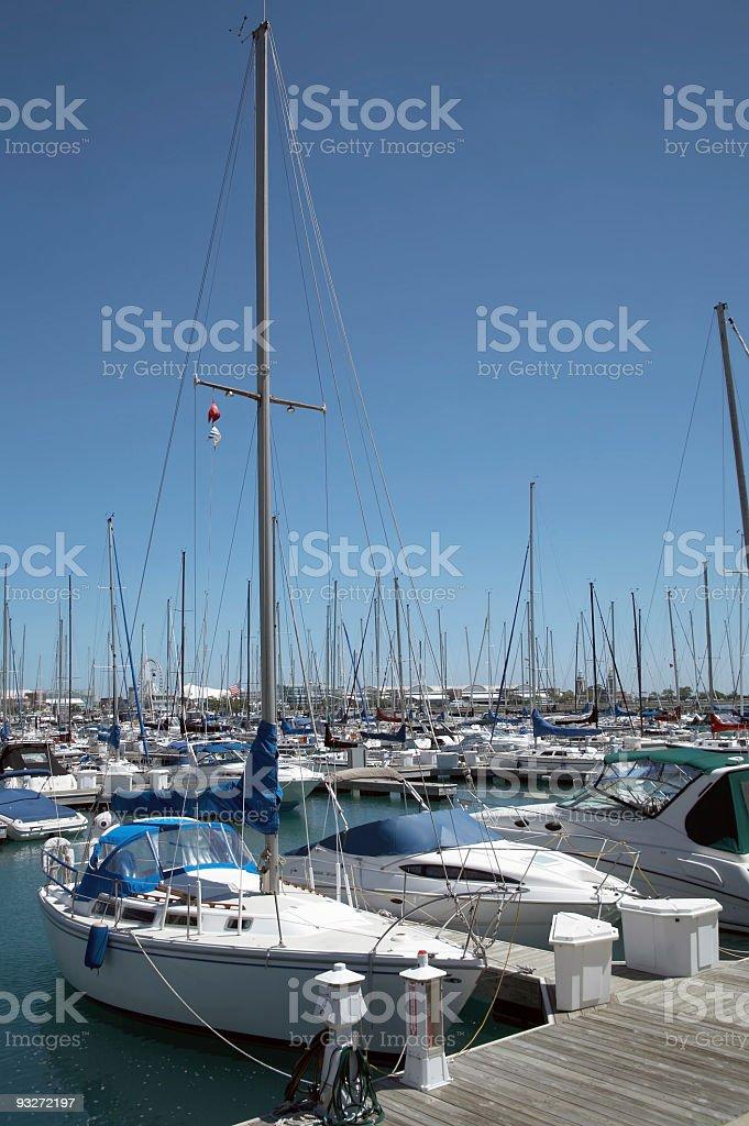 Boat Marina royalty-free stock photo