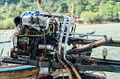 boat motor engine