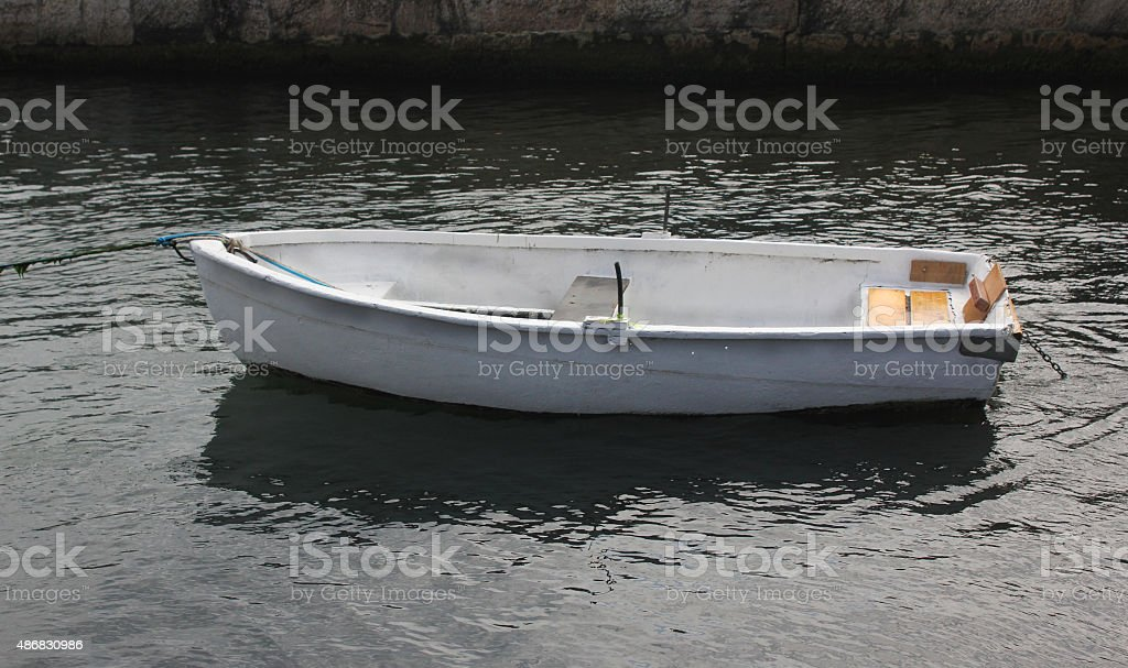 Boat on the sea stock photo