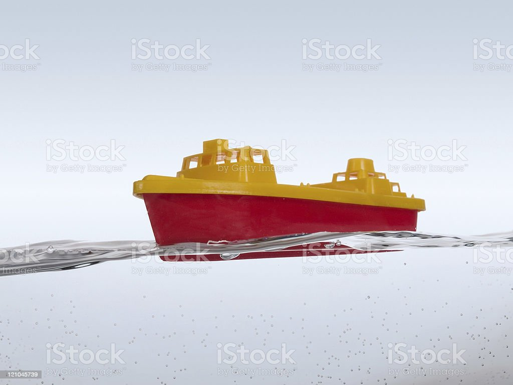 Boat On The Water royalty-free stock photo
