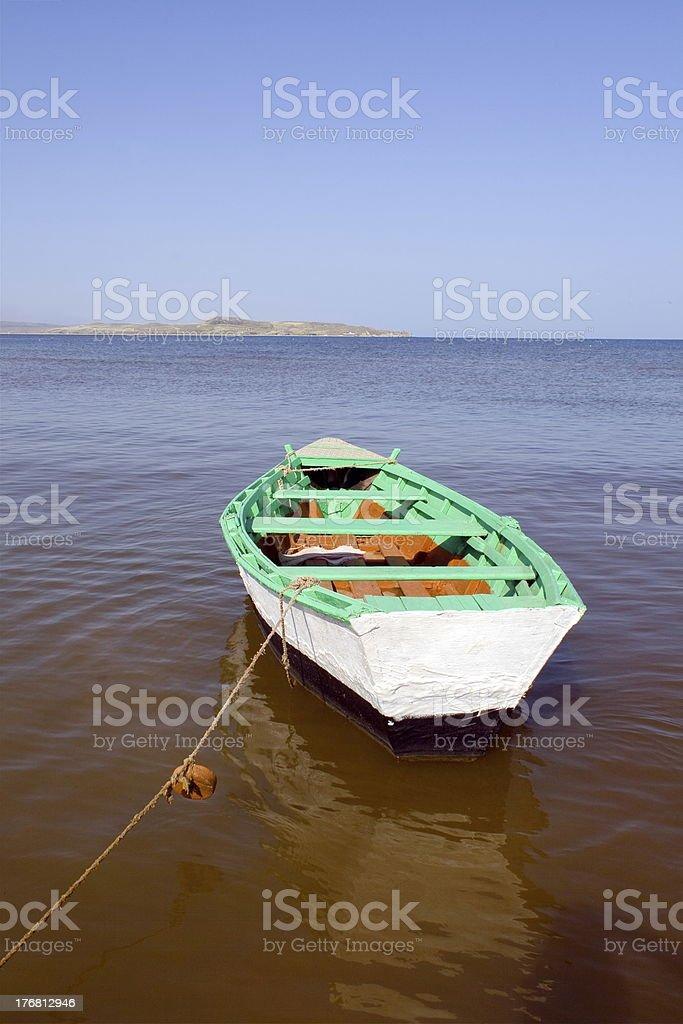 Boat. royalty-free stock photo