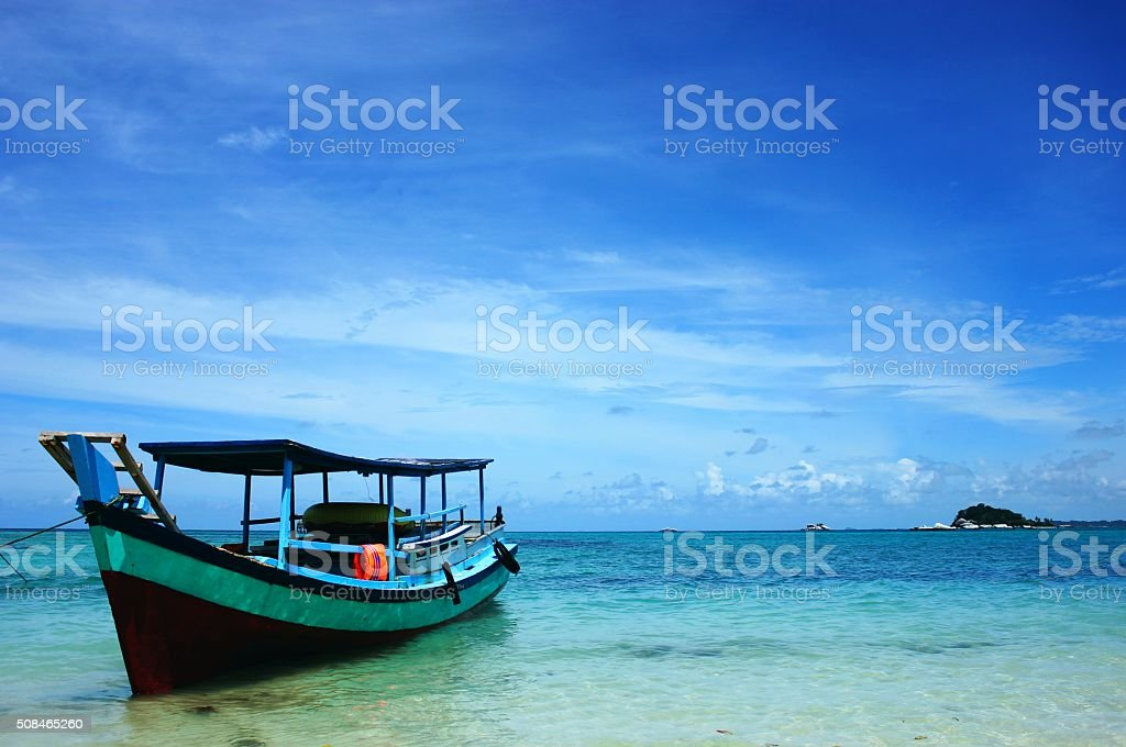 Boat (Left side) stock photo