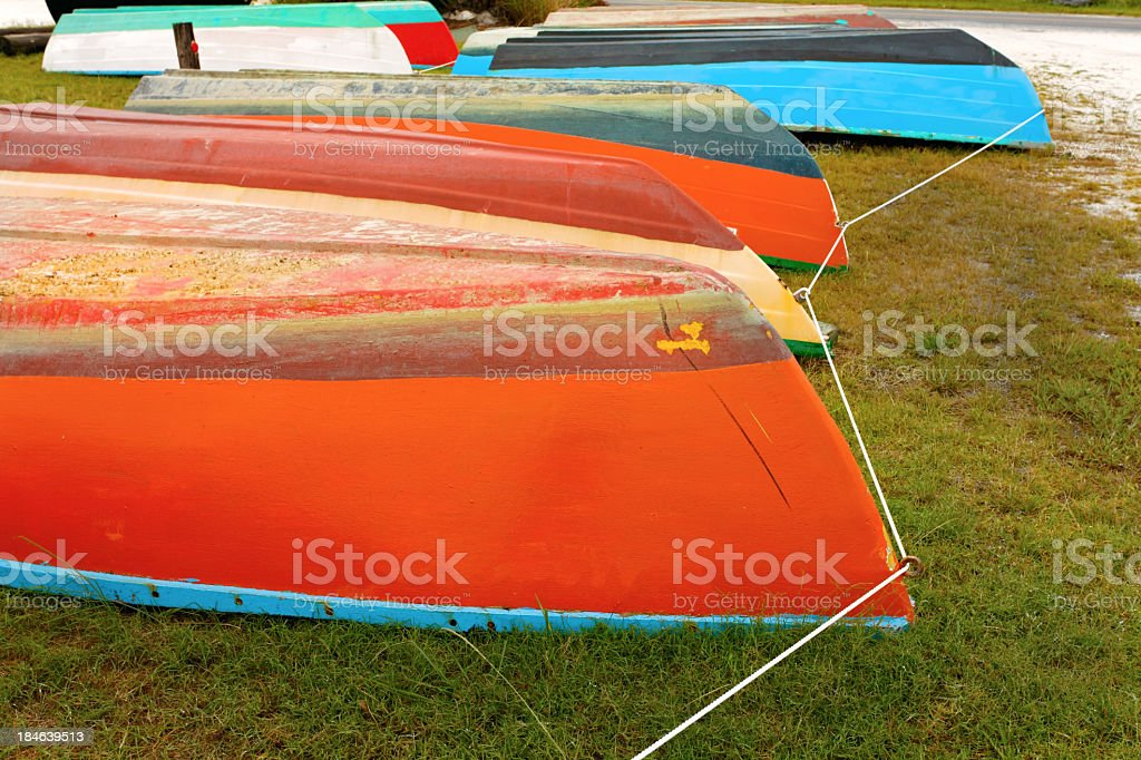 Boat Prows royalty-free stock photo