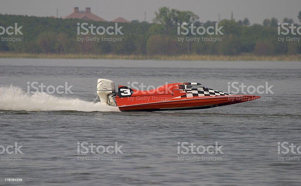Boat race royalty-free stock photo