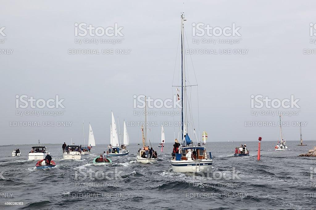 Boat Race stock photo