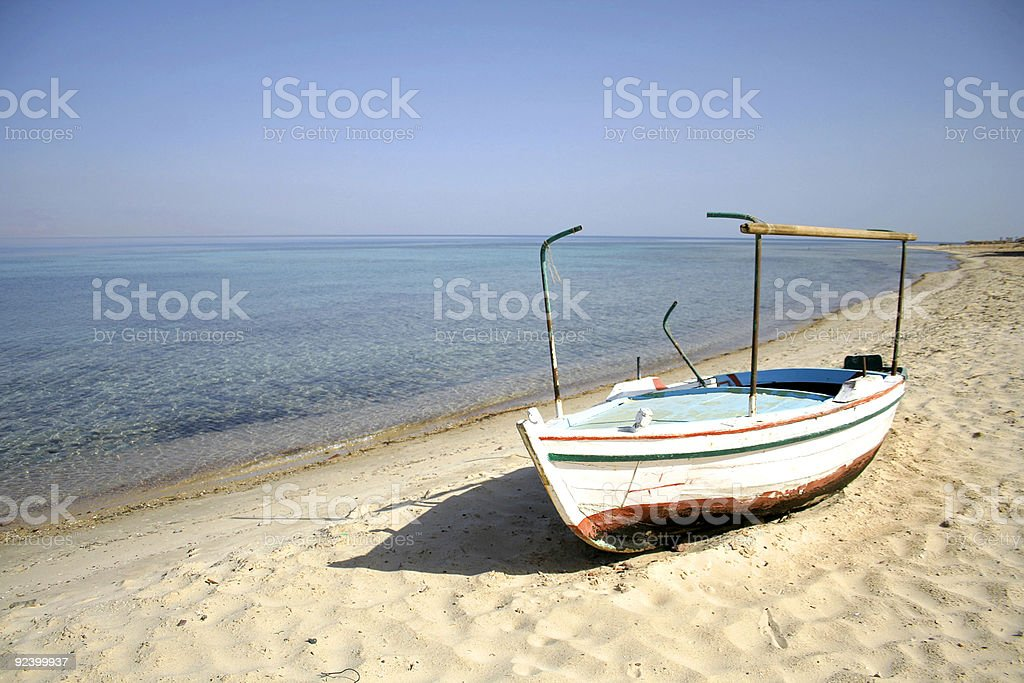 boat, red sea, sinai royalty-free stock photo