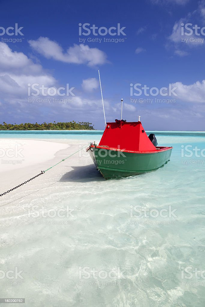 Boat Ride In Paradise royalty-free stock photo