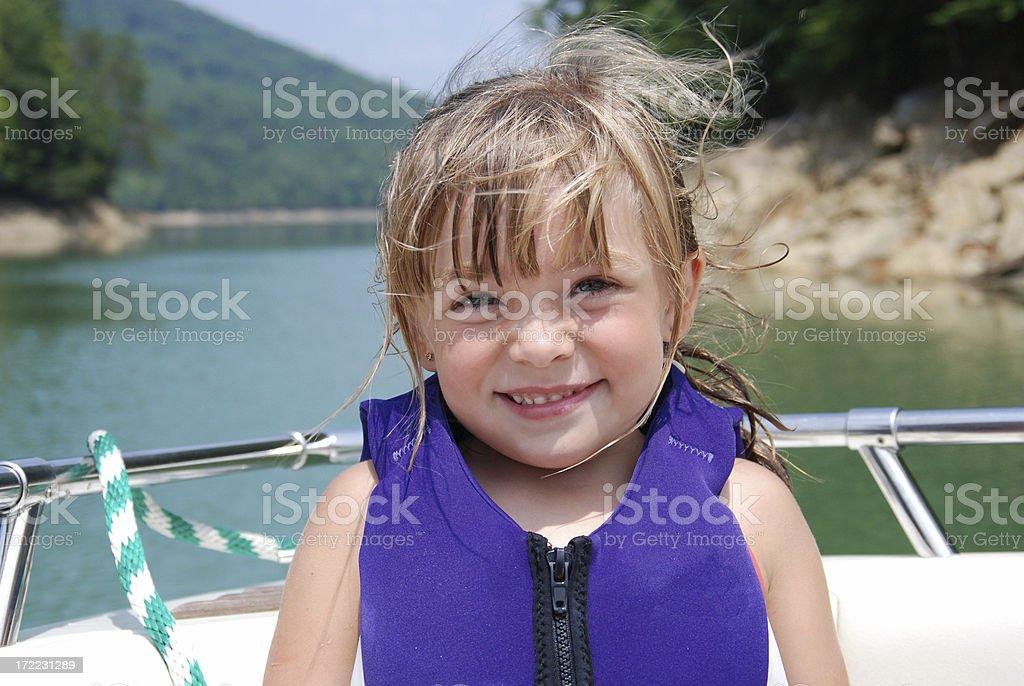 Boat Ride royalty-free stock photo