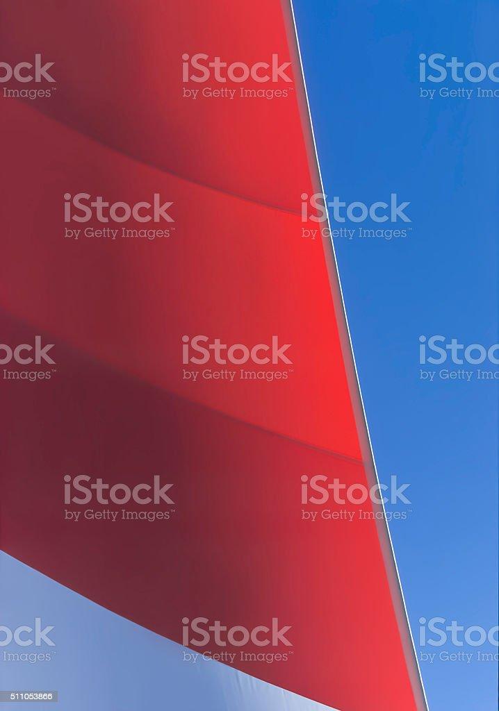 Boat Sail Abstract stock photo