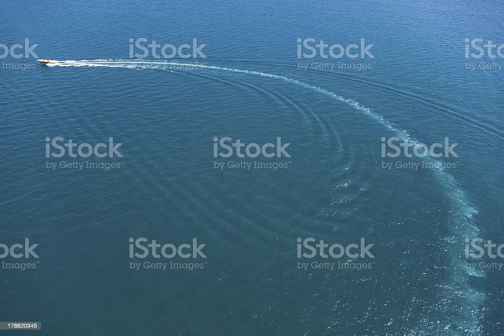 boat sailing stock photo