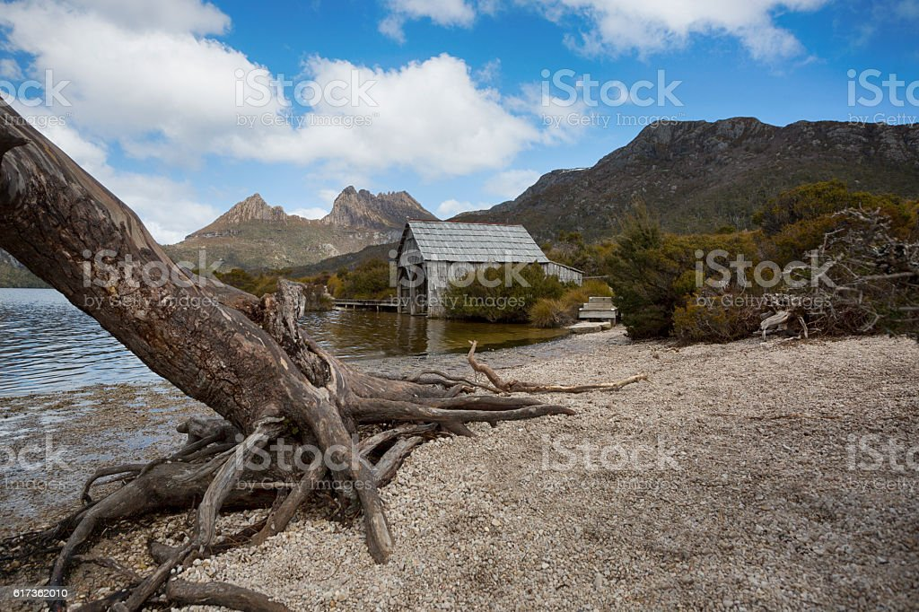 Boat Shed Views stock photo