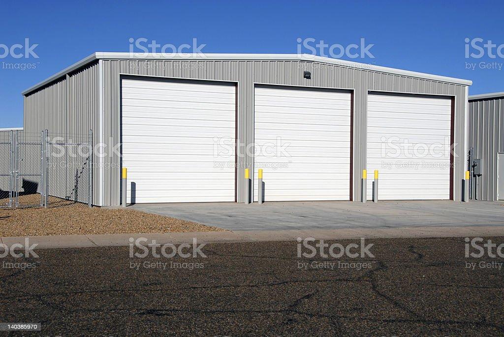 Boat storage stock photo
