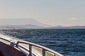 Boat trip on the Tasman Sea