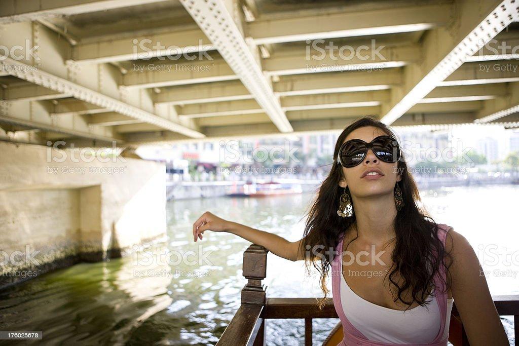 Boat trip royalty-free stock photo