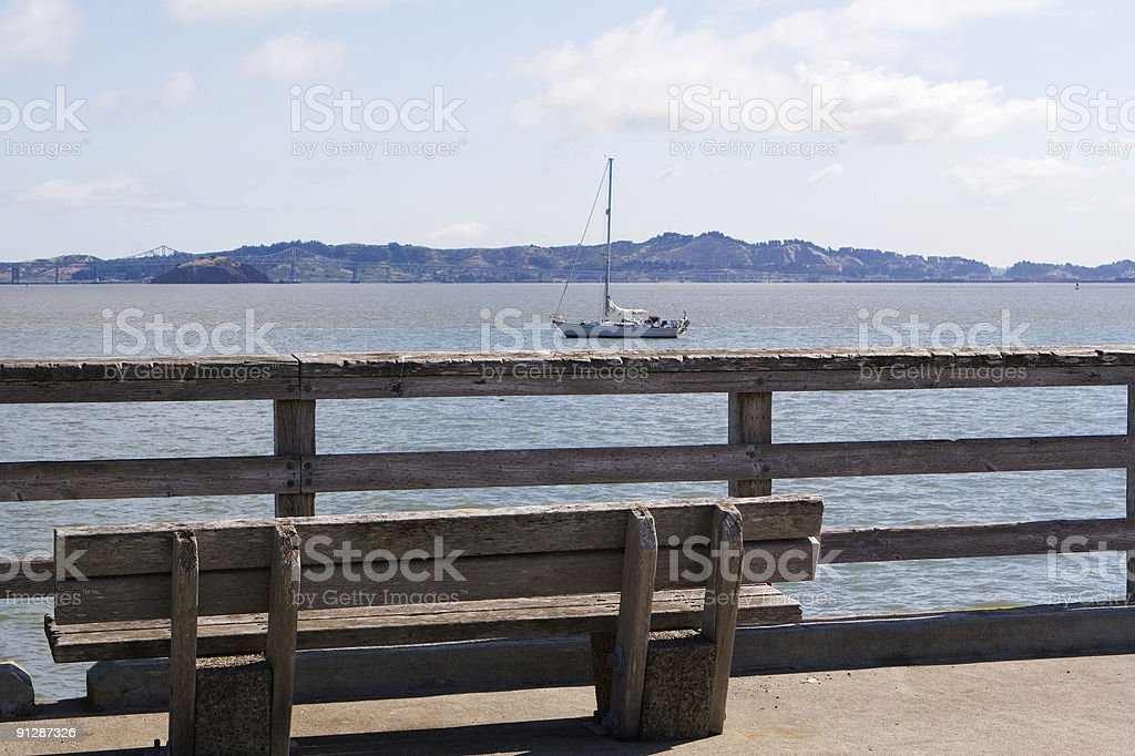 Boat View royalty-free stock photo