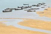 Boat wharf at Tra Khuc, Quang Nam, Danang, Vietnam