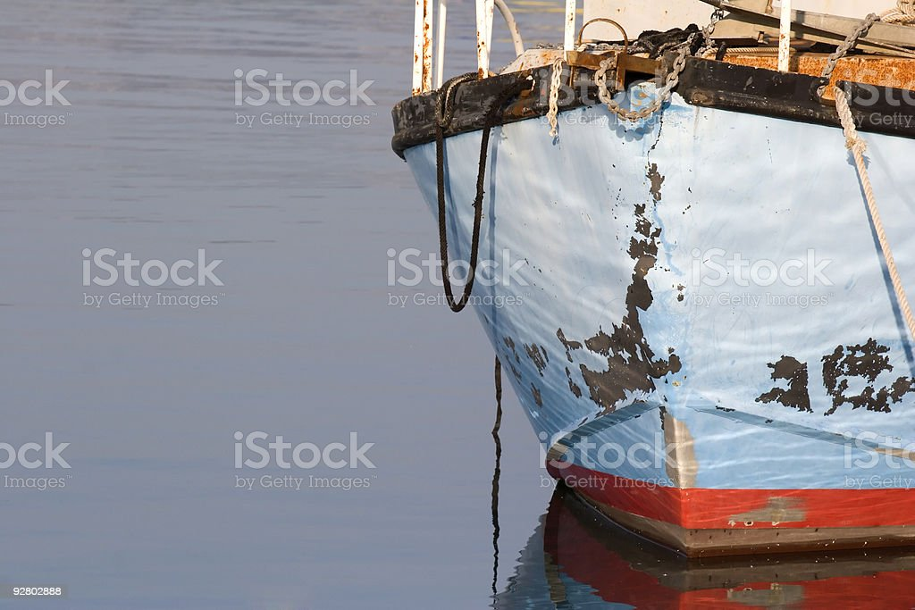 Boat Worn royalty-free stock photo