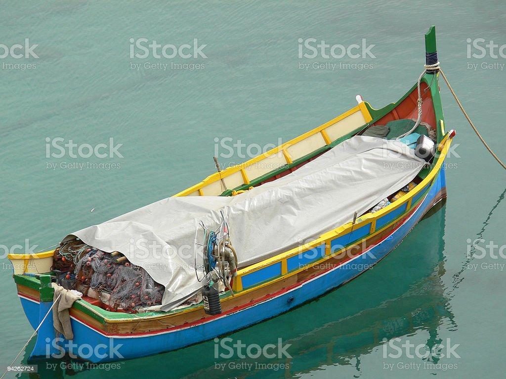 boat_malta stock photo