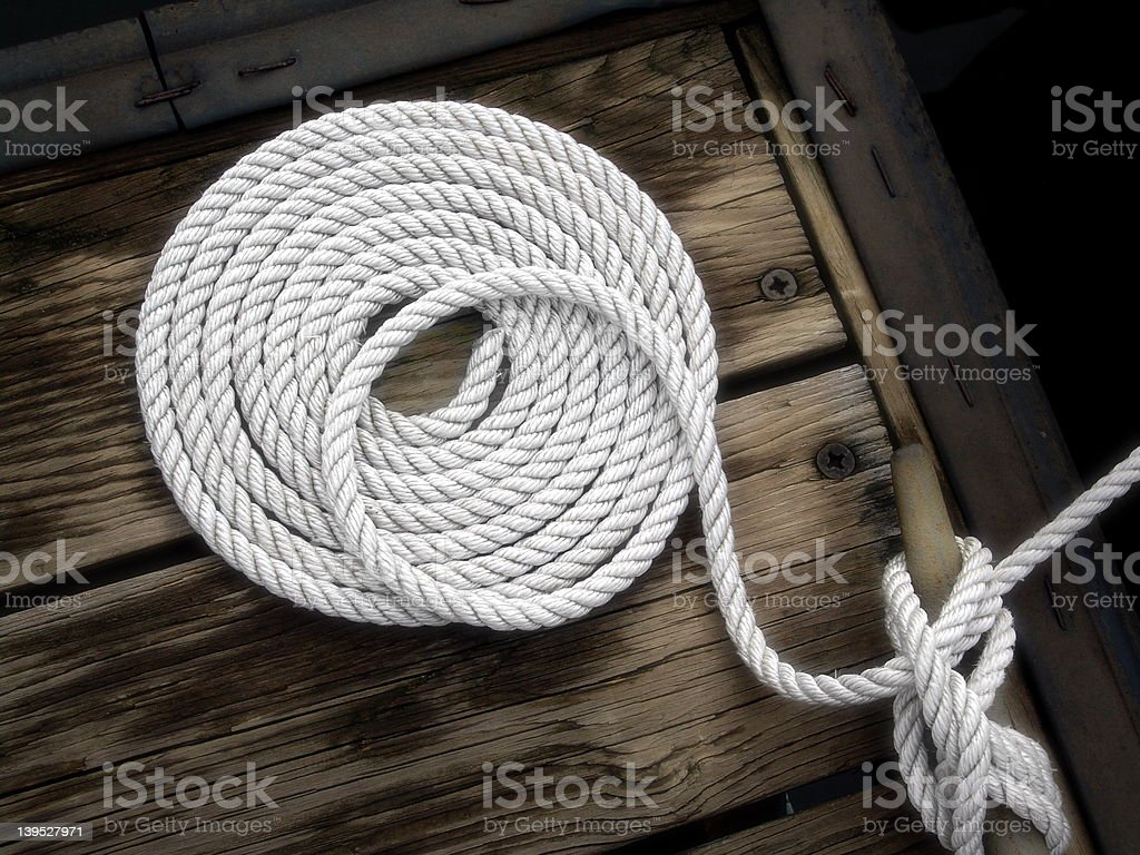 Boater's Art royalty-free stock photo