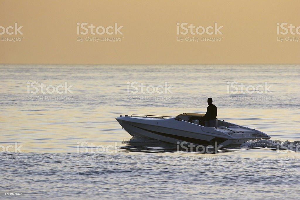 Boating 2 stock photo