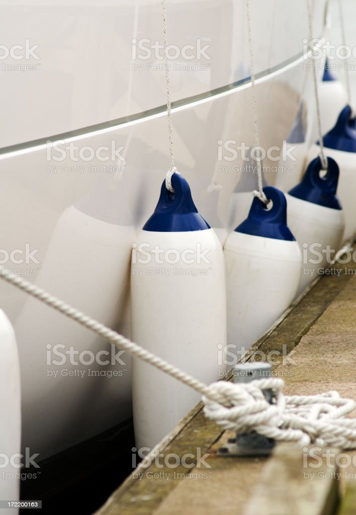Boating detail royalty-free stock photo